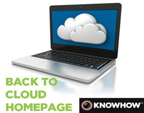 Knowhow Cloud Backup Homepage