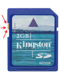 Kingston 2GB memory card