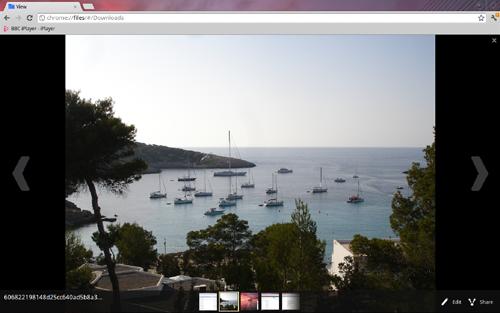 Google Chromebook picture edit