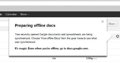 google preparing offline docs