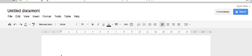 google new google document