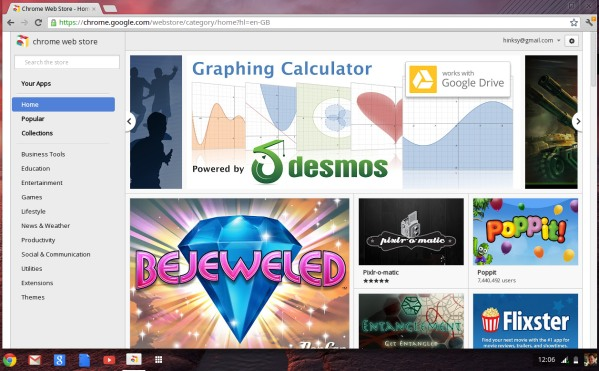 Web browser Chrome Web Store
