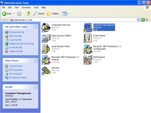 Windows Administrative Tools