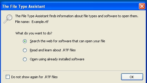 file type assistant