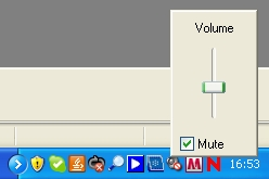 volume control in windows