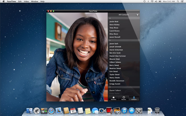 using apple facetime