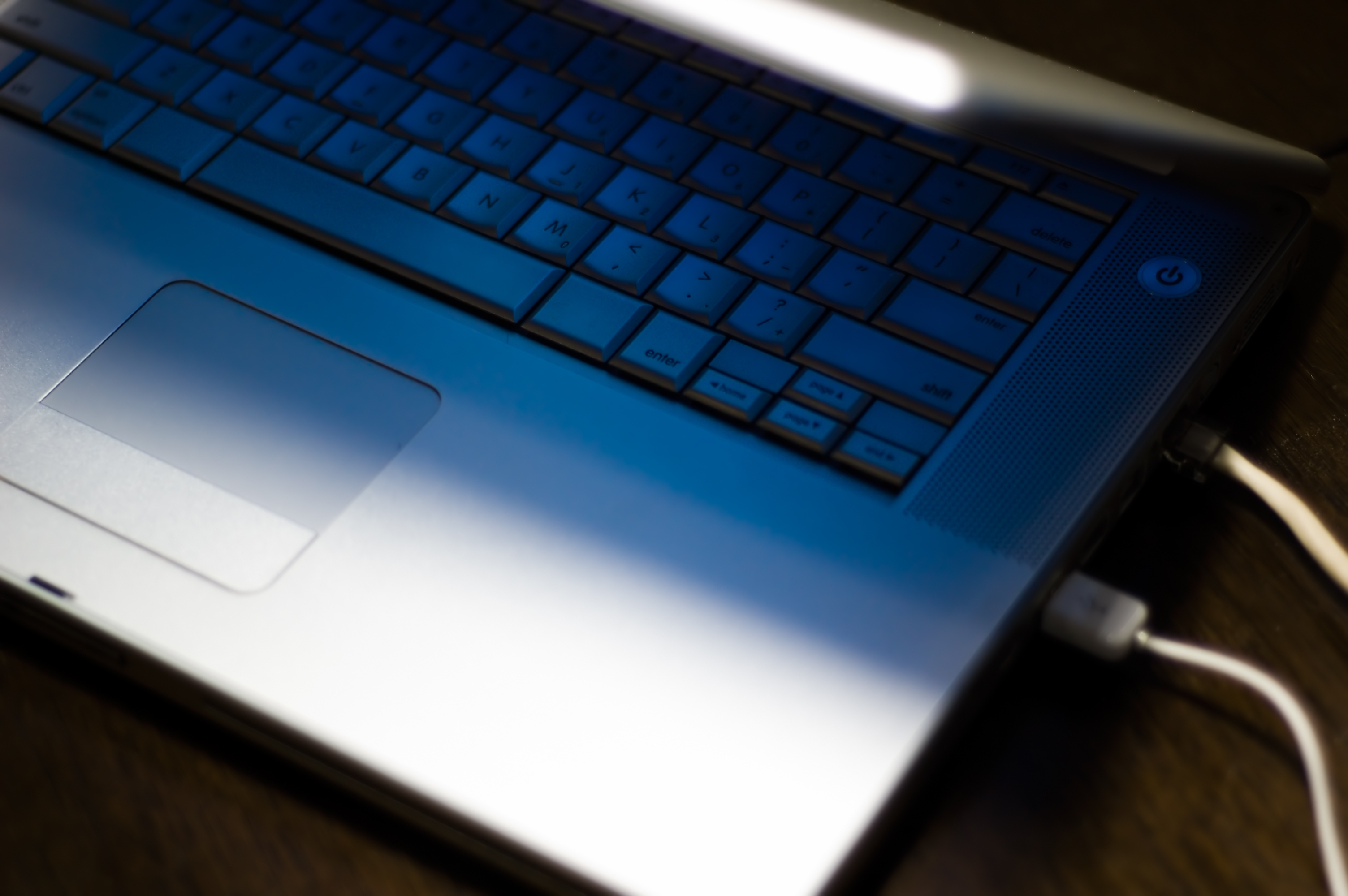 Open Laptop USB Ports