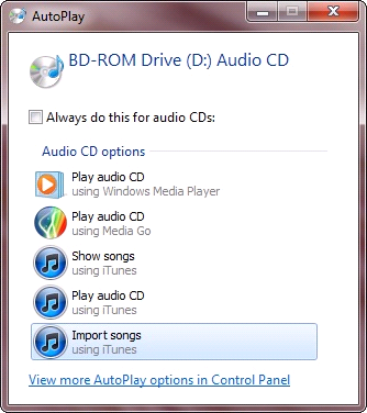 itunes auto play in windows