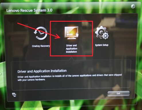 Lenovo Driver and Application Installation in Windows
