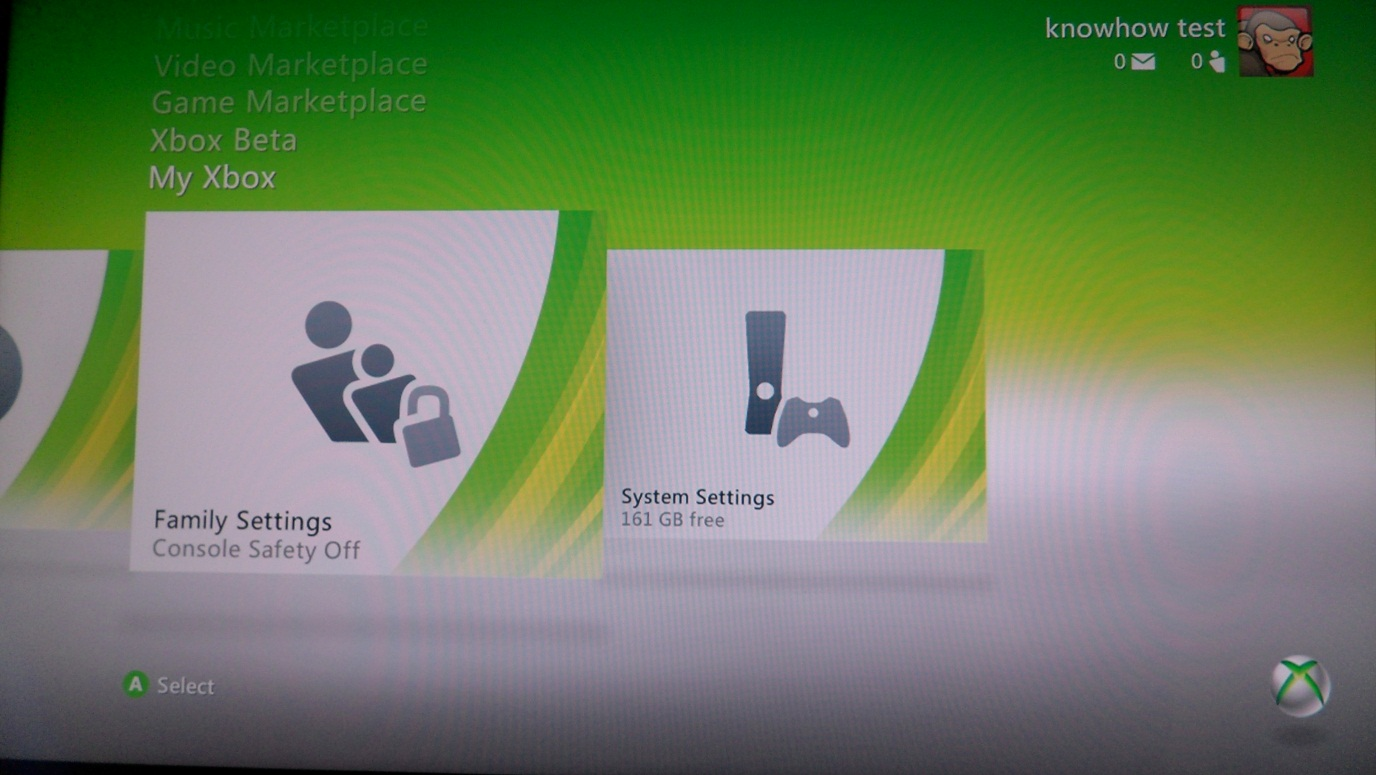 Xbox 360 Family Settings 1